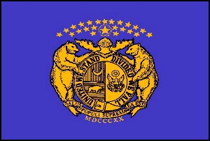 The Missouri State Guard Flag Was Never Formally Adopted As The Official State Flag In Missouri Legislation The Flag Was Adopted In Missouri By Direction